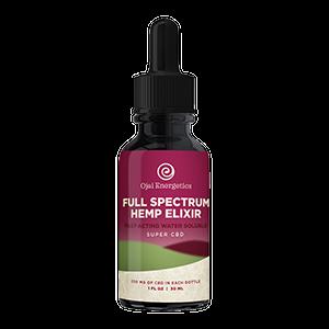 full spectrum hemp elixir - water soluble cbd