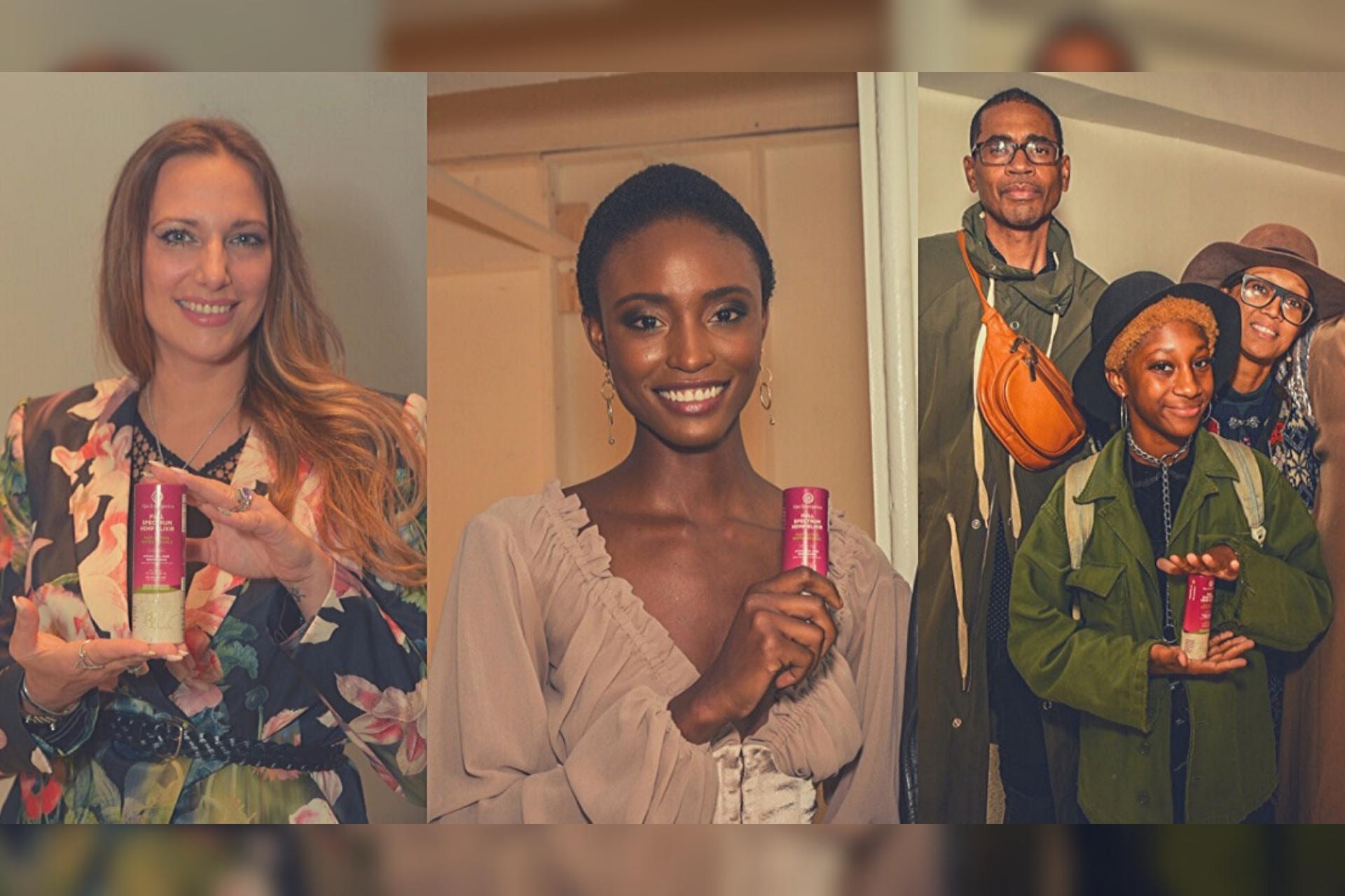 Ojai Energetics Steps Into CBD Fashion at Modelpreneur Book Launch