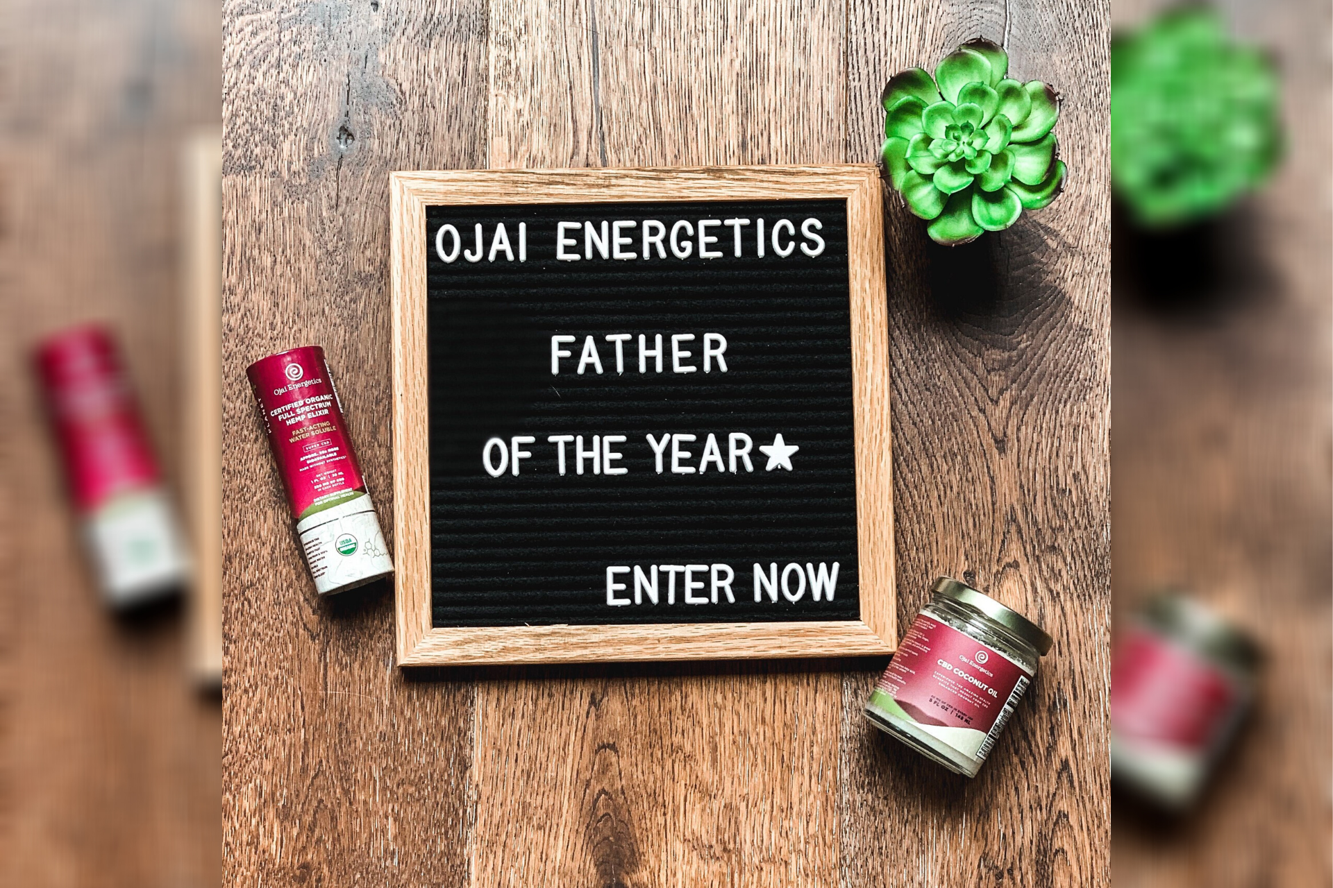 Ojai Energetics 'Father Of The Year Award' Call For Entries