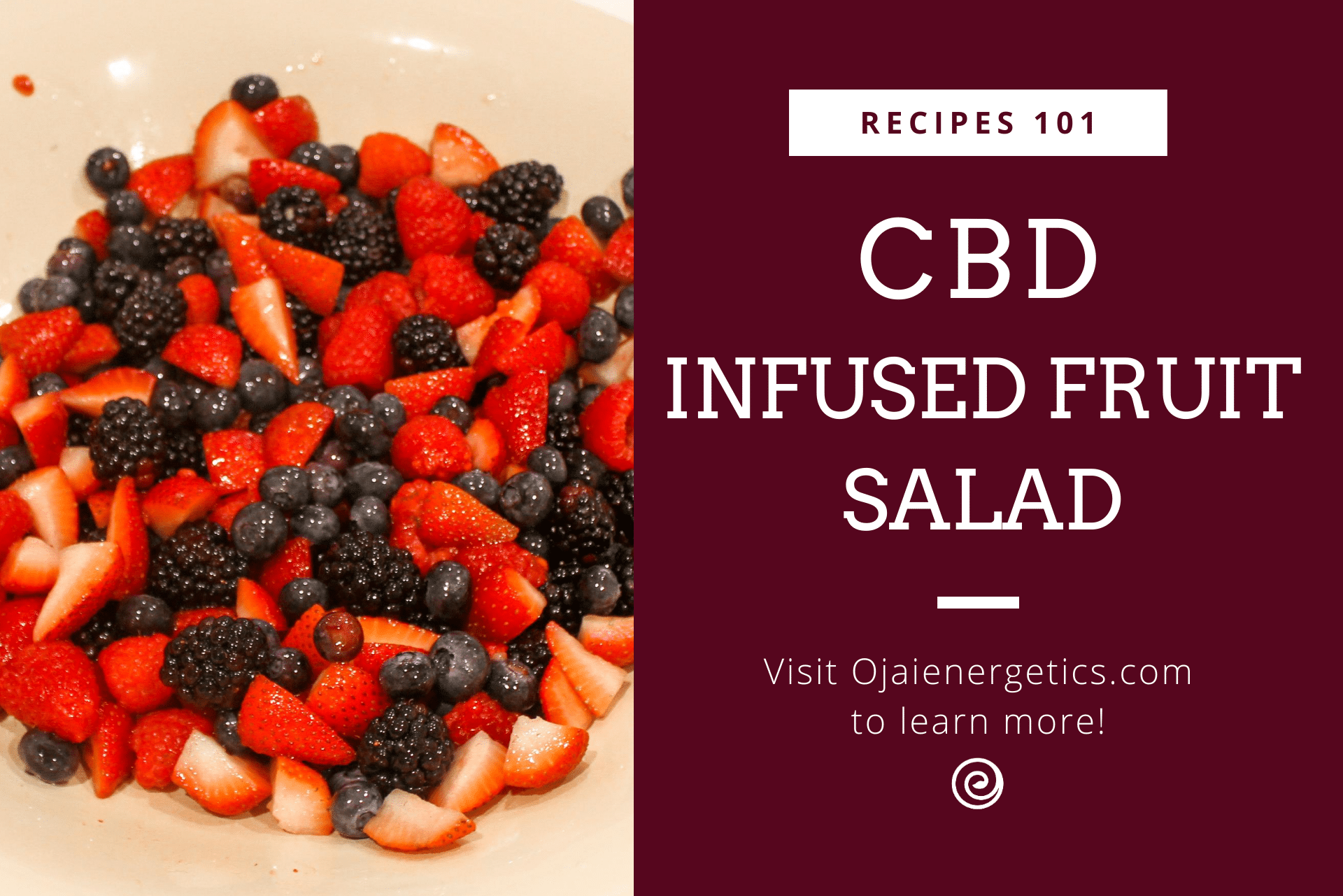 CBD Recipes: CBD-Infused Fruit Salad