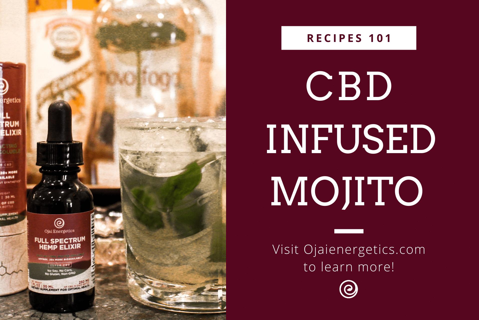 Summer CBD Recipe: CBD-Infused Mojito